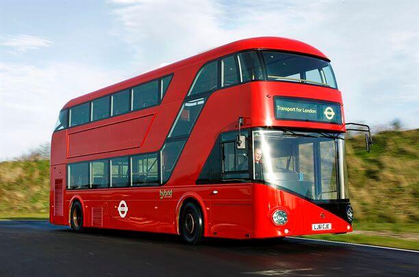 Photographer - Stan Papior Wright London Bus   Red