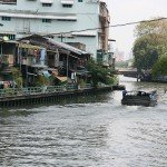 Khlong à Bangkok