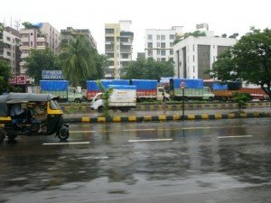 Bombay, une ville très animée