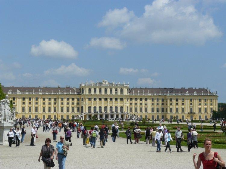 Le château Schöbrunn