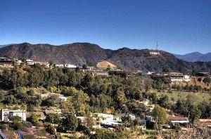 Une vue magnifique sur le Hollywood sign