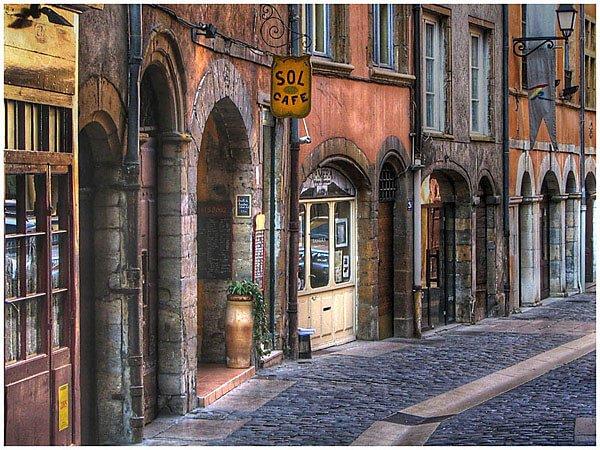 Rue dans le Vieux Lyon