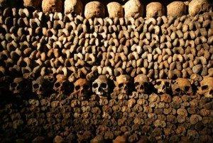Les catacombes à Paris