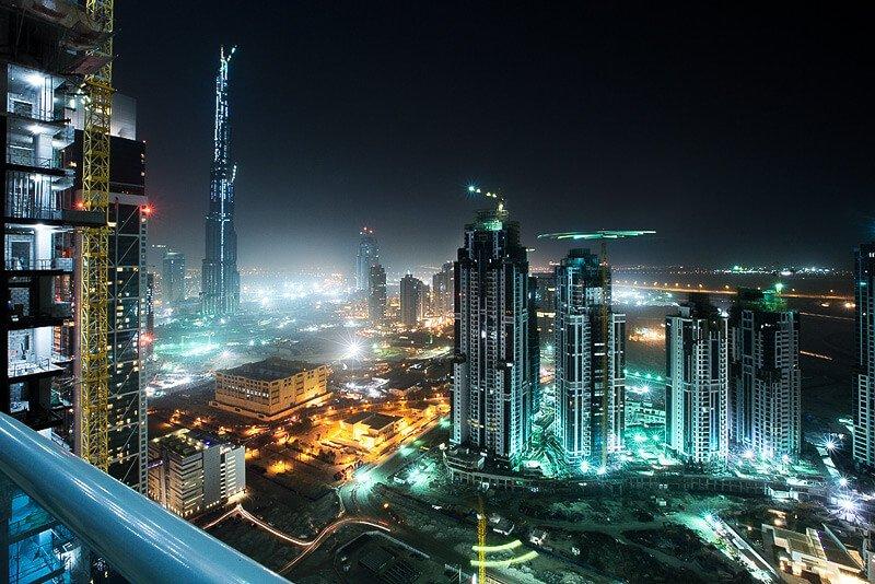 Dubai la nuit