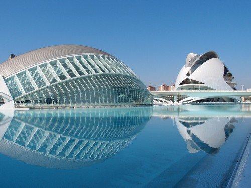 Valence l'éblouissante Cité des Arts et des Sciences