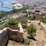 malaga château de Gibralfaro