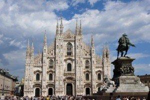 milan L'impressionnante cathédrale du Duomo