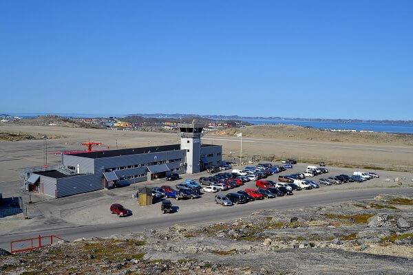 L'aéroport de Narsarsuaq au Groenland