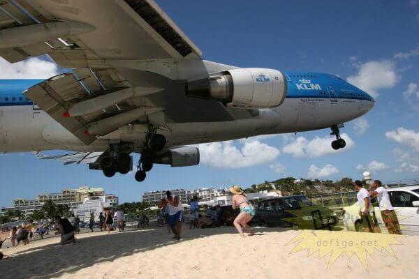 L'aéroport international Princess Juliana, Saint-Martin