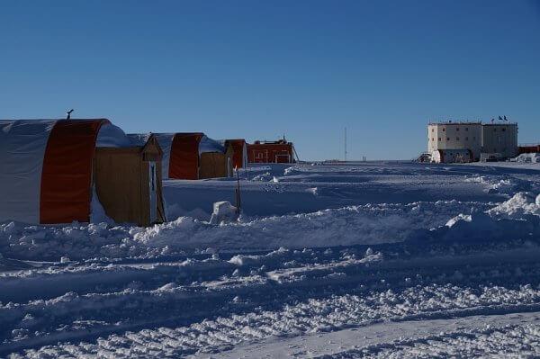 L'aérodrome de Wilkins en Antarctique