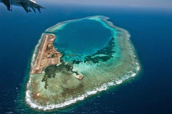 L'île de Layang Layang