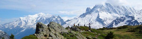 Le mythique massif du Mont-Blanc